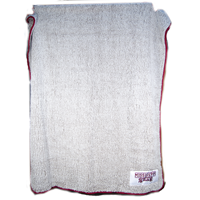 Frosty Tipped Banner M Sherpa Blanket