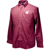 Cutter and Buck Epic Nailshed Flying M Long Sleeve Button Down