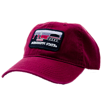 bbbf0919421 Skyline Patch Mississippi State Cap