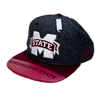 abcec34db9b Adidas 2017 Sideline Smooth Mississippi State On Bill Adjustable Cap
