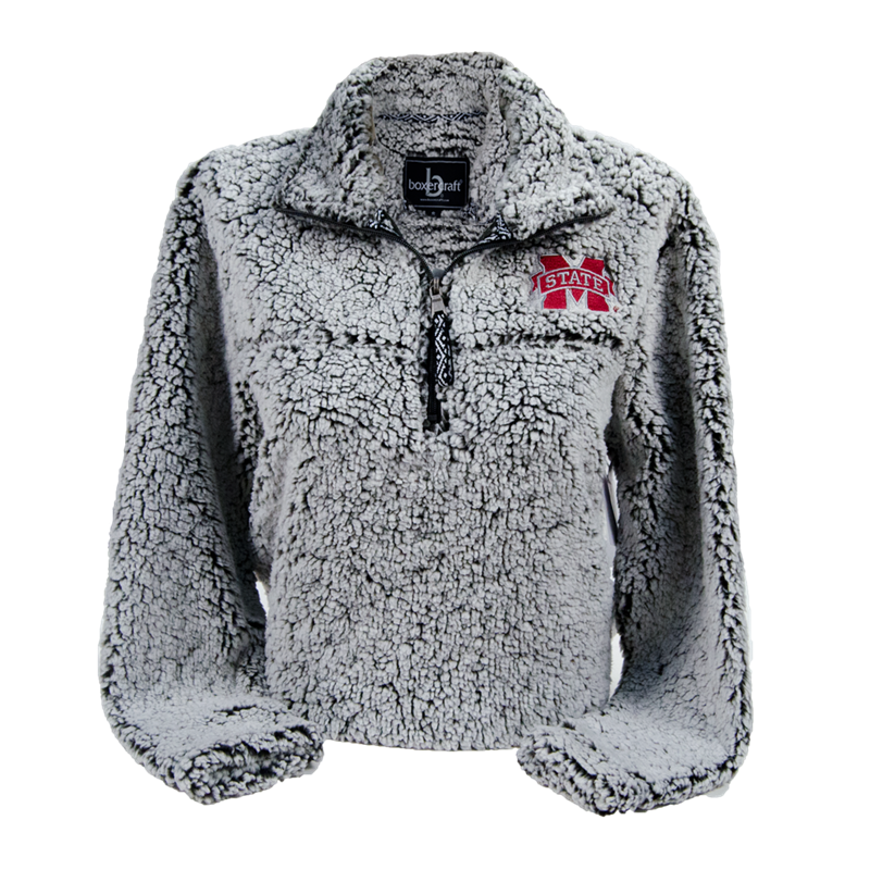 Boxercraft Sherpa Frosted Fleece Pullover | Campus Book Mart