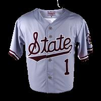 2021 State Script Baseball Jersey