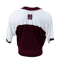 Adidas Mississippi State Across Chest Replica Baseball Jersey