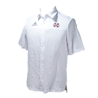 Adidas Iconic Banner M Short Sleeve Button Down