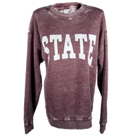 Chicka-D Burn Out State Sweatshirt