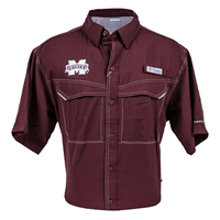 Columbia Low Drag Offshore Banner M Short Sleeve Button-Down