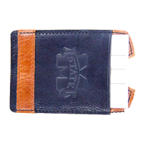 Leather Banner M Cell Phone Wallet