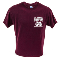 2019 SEC Tourney Champs Score Short Sleeve Tee