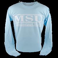 Comfort Color MSU Bar Long Sleeve Tees