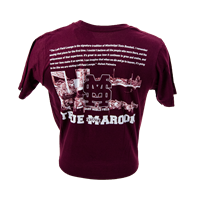 2016 - 2017 Adidas Dudy Noble Field True Maroon Short Sleeve Tee