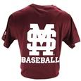 Russell Baseball Logo Short Sleeve Tee