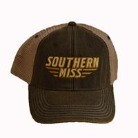 L2 Brands Trucker Helmet Logo Hat