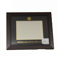 University Frames #21 Black Cherry Diploma Frame
