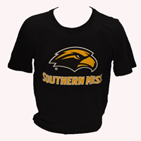 Russell Essential Eagle Head Southern Miss Tee